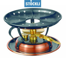 Stöckli Fondue wick burners Chafing Dish Copper for Cheese & Meat NEW