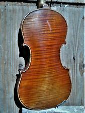 """Schöne alte 4/4 Geige m. Zettel """"ORESTE CANDI GENOVA 1929"""""""