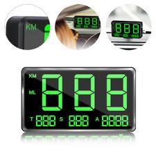 DIGITAL GPS SPEEDOMETER HUD MPH / KM/H OVERSPEED WARNING FOR CAR MOTORCYCLE