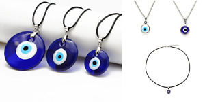 Good Luck Protective Evil Eye Necklace Pendant Lucky Talisman Variety of Styles