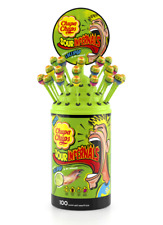 Tub of 100 Chupa Chups Sour Infernals Lollipops Tube REDUCED NOW £14.99