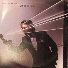 CHRIS DE BURGH Man On The Line EX/VG+ 1984 LP Vinyl Record Album AMLX 65002