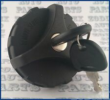 Locking Fuel Gas Tank Filler Cap for Vauxhall Combo Van 2001 - 2006 w Plastic Ky