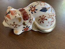 Japanese Painters Porcelain Sleeping Cat Andrea Sadek Japan Collectible Figure