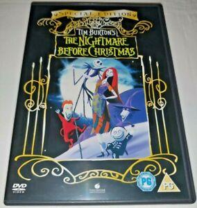 The Nightmare Before Christmas DVD Region Code 2