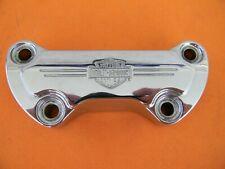 Harley Davidson Bar & Shield Handlebar Clamp Genuine   56567-86B  Used