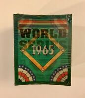 1965 SCORE World Series Trivia Complete Mickey Stacks The Card Collection MLB