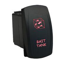 Rocker switch 6M36R 12V BAIT TANK LED red waterproof marine boat water fishing