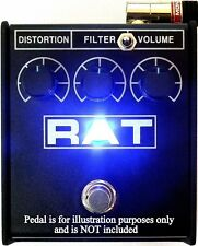 NEW Modify YOUR ProCo RAT2 to 3 - Way Mod KIT Guitar Effects Pedal