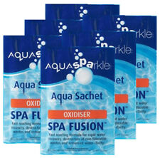 6 x Aquasparkle Spa Fusion Shock Treatment Hot Tub Pool Tubs Spas Oxidiser Lite