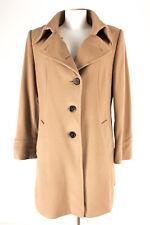 FUCHS SCHMITT Mantel Gr. 42 Wolle-Kaschmir Coat