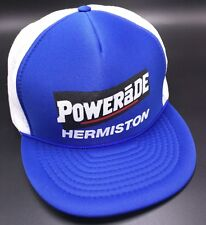 POWERADE WRESTLING TOURNAMENT Hermiston blue white adjustable cap / hat