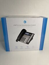 ATT 4-Line Small Business System Phone W/Caller ID ATT1070 3-Party Conferencing