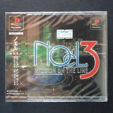 sealed NOëL 3 MISSION ON THE LINE PlayStation NTSC JAPAN・❀・RPG BISHOJO HENTAI PS