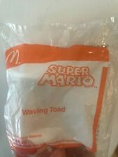 Unopened new McDonald's toys 2016 SUPER MARIO happy meal Waving Toad