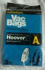 NEW, HOMECARE Hoover and Bissell Upright Style 2 Vacumm Bags TYPE A