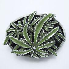 Marijuana Cannibus Weed  Metal Fashion Belt Buckle