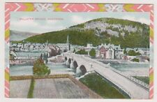 Aberdeenshire postcard - Ballater Bridge, Aberdeen