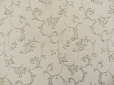 Moonlight Scroll, an allover isley decorator material on linen/rayon blend