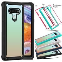 For LG Stylo 6 Phone Case Shockproof Armor Hybrid Rugged Rubber Slim Hard Cover