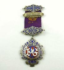 1954-55 Sterling Silver & Enamel Grand Lodge of Alberta Grand Primo Jewel