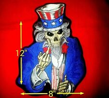 Large uncle Sam ''Screw you!!'' Patch 12'' by 8'