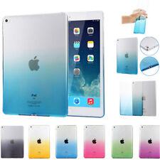 For iPad Mini Air 2 3 4 Pro Ultra Thin Transparent Soft Silicone TPU Case Cover