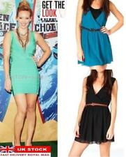 V-Neck Plus Size Dresses for Women with Belt