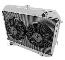 "3 Row Performance Radiator For 70-74 Mopar 26"" Core Big Block 2 x 12"" Fan Combo"