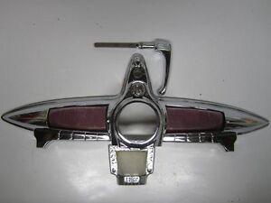 49 Dodge Coronet Meadowbrook Wayfarer Trunk Lock Stop Light Assembly RECHROMED