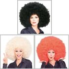Super Afro Wig Big Huge Giant 70s Disco Clown Halloween Costume Fancy Dress