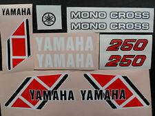 Yamaha TY 250 Trials Mono Sticker Kit