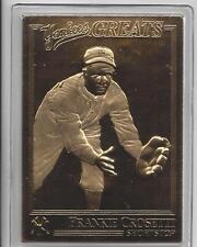 Frank Crosetti 2003 Danbury Mint NY Yankees Greats 22Kt Card 100 Anniversary