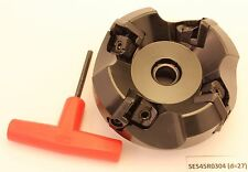 AK, SE545R-0304x27, 80mm 27 ID indexable  45° Shell Face Mill CUTTER ON SALE