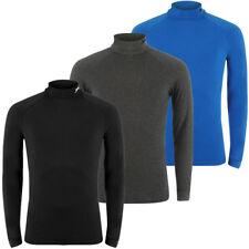 Slazenger Men's Turtleneck Size S M L XL XXL Roll Neck Sweater Jumper New