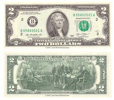 United States USA 2 Dollars 2013 Series B (New York) P-New Banknotes UNC