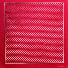 Classic Polka Dot Bandana Scarf Cotton Retro Rockabilly Pin up Punk Red Minnie M