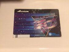 Michael Jackson Official Captain eo Phone Card Tokyo Disneyland