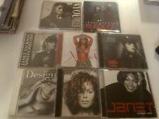 Janet Jackson LOT 14 CD Rhythm nation Black cat Discipline No Promo