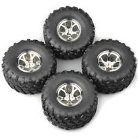 4X 132mm 1:10 Bigfoot Tyres 12mm Hex wheel&tires for RC Monster Truck Model Car