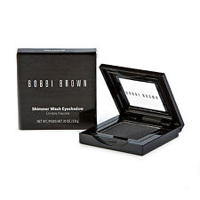 Bobbi Brown Shimmer Wash Eyeshadow #3 Gunmetal 2.8g Dark Grey Smokey Shadow