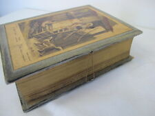 F. WHEATLEY VENDRAMINI GERMANY WOOD BOOK BOX CASE CRIES OF LONDON CHAIRS MEND
