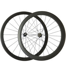 38+50MM Tubular Carbon Road Bike Wheelset 20.5MM Width Cycling Bicycle Wheel
