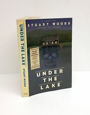 Under The Lake-Stuart Woods-SIGNED!!!-VERY RARE UNCORRECTED PROOF-TRUE First/1st