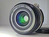 [Near Mint] Nikon Ai NIKKOR 35mm F2.8 Wide Angle MF Prime Lens from JAPAN JP SLR