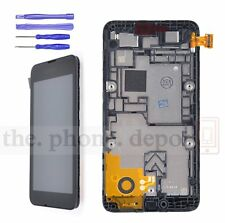 Black LCD Display Touch Screen Digitizer Frame Assembly For Nokia lumia 530 N530