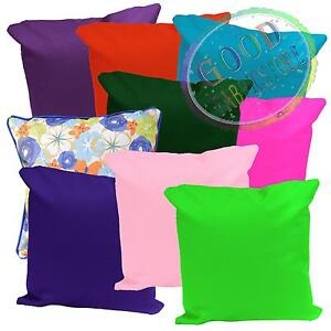 PL Color Water Proof Canvas PU Outdoor Cushion Cover Pillow Case Custom Size