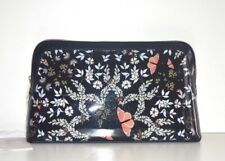 Ted Baker London Kyoto Gardens Cosmetic Makeup Case Wash Bag Mid-Blue Full Size
