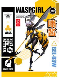 Snail Shell Wasp Girl BEE-03W Weng Jiang 1/12 Action Figure