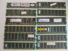 Lotto Stock memorie dimm 168 pin pc 66/100 16/32/64/128 reg/non reg ecc sdram